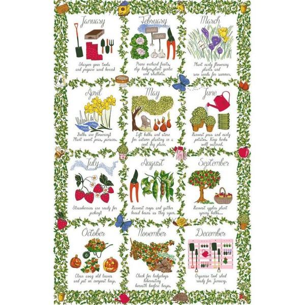 Tea Towel Gardeners Calendar 2 81155