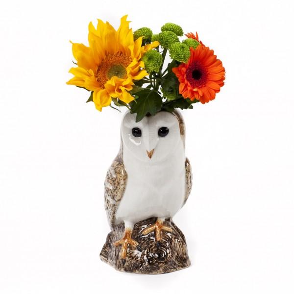 66096--Vase Barn owl