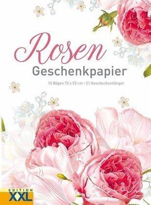 Rosen Geschenkpapier