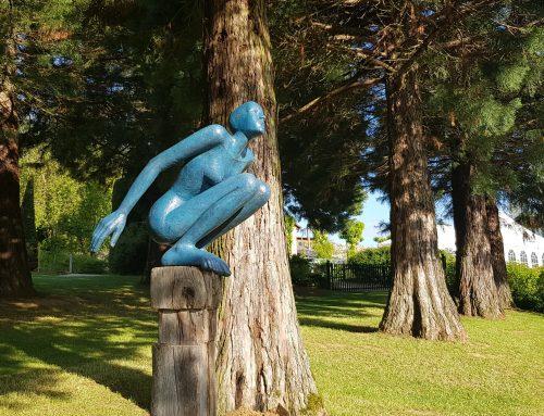 Kunst im Garten: Weitere Künstler eingetroffen